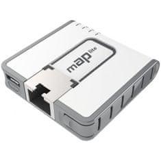 Mikrotik mini brezžična dostopna točka mAP lite RBMAPL-2ND PoE