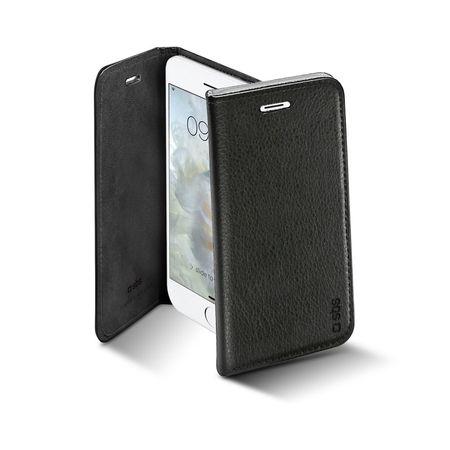 SBS preklopna torbica za iPhone 7, crna