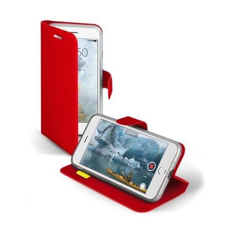 SBS preklopna torbica s stojalom za iPhone 7, rdeča