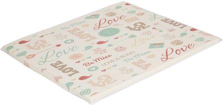 Ladotex Ladotex plochá 75x85, Love
