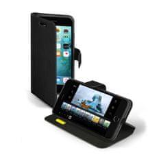 SBS preklopna torbica s stojalom za iPhone 7 Plus, črna