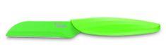 Ausonia nož za lupljenje in rezanje Brio line, zelen, 9 cm
