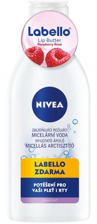 Nivea pomirjujoča micelarna voda + Lip Butter malina