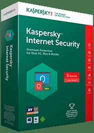 Kaspersky spletna zaščita Internet Security, obnovitvena licenca za 3 naprave, 1 leto