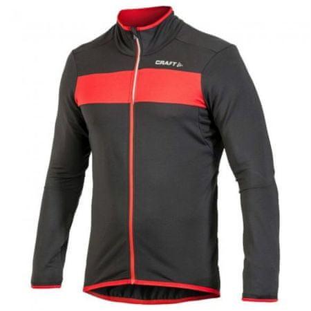 Craft muška biciklistička majica Move Thermal, M, crno/crvena