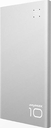 iMyMax P10 Power Bank, 10000mAh, Ezüst