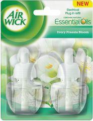 Air wick tekoče polnilo za električne osvežilce zraka, Ivory Fresia bloom, 2 x 19 ml - Odprta embalaža