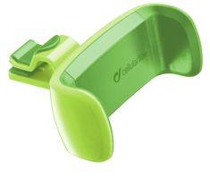 CellularLine Univerzální držák STYLE&COLOR do ventilace, zelená