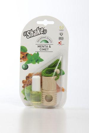 Shake dišava + dodatno polnilo Meta & cimet 2/1, 2 x 4,5 ml