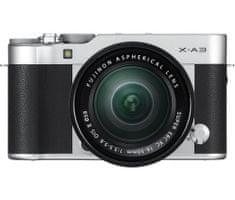 FujiFilm FINEPIX X-A3 + 16-50mm Ezüst