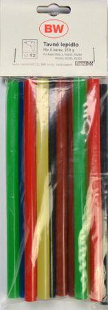 Rapid Tavné lepidlo v rôznych farbách Ø 12 mm, 12 ks (9025)
