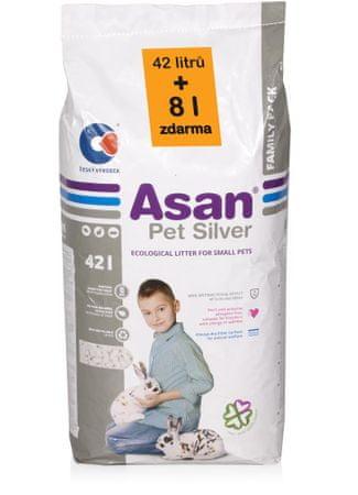 Asan Pet Silver Kisállat alom, 42 L