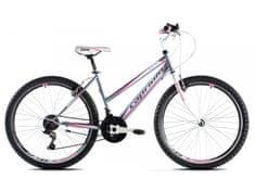 Capriolo brdski bicikl MTB Passion Lady 19, sivo-rozi