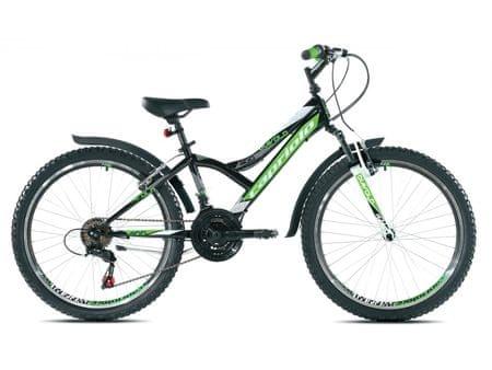 Capriolo otroško gorsko kolo MTB Diavolo 400 FS 13, zeleno