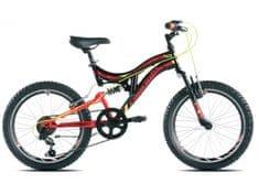 Capriolo brdski bicikl CTX 200 15.4, crno-crveni