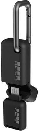 GoPro čitalec microSD kartic Quik Key (Micro USB) - Odprta embalaža