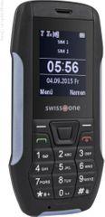 Swisstone SX567, Dual SIM, outdoorový telefon, černá/šedá
