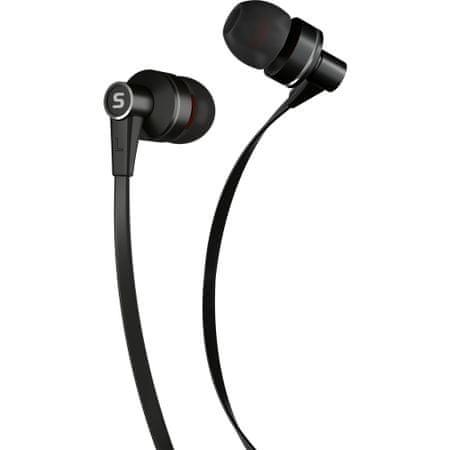 SENCOR SEP 300 Mikrofonos fülhallgató, Fekete
