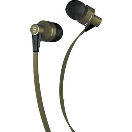 SENCOR SEP 300 Mikrofonos fülhallgató, Khaki