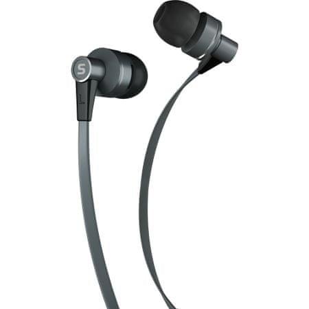 SENCOR SEP 300 Mikrofonos fülhallgató, Szürke