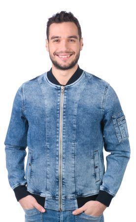 Pepe Jeans kurtka męska Teddy L niebieski