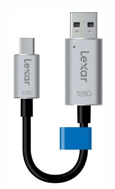 Lexar USB ključ JumpDrive C20m, 128GB