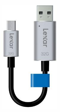 Lexar USB ključ JumpDrive C20m, 32GB