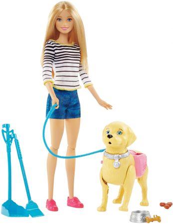 Mattel Barbie Sprehod s psom