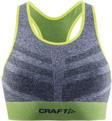 Craft ženski sportski grudnjak Comfort Mid, plavi