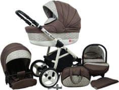 Sun Baby Wózek wielofunkcyjny Alu way 3w1