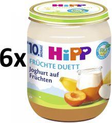 HiPP BIO Jogurt s ovocím - 6x160 g