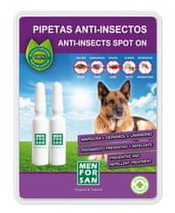 Menforsan Antiparazitní pipeta pro psy 2ks