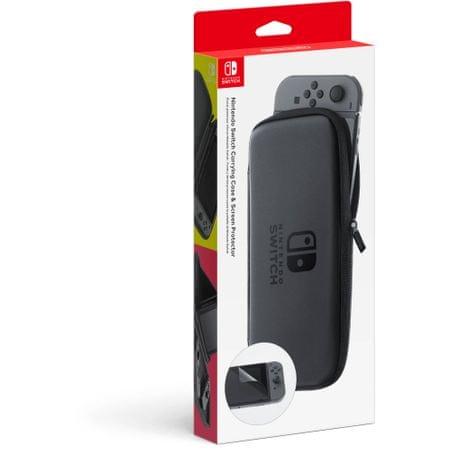 Nintendo torbica in začita za ekran, črna (Switch)