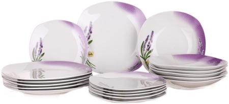 Banquet set krožnikov, 18 kosov