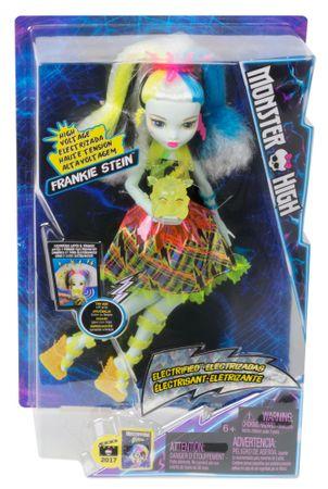 Monster High Frankie Steinová v Monstrózním napětí - rozbaleno