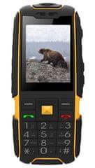 Aligator R20 eXtremo, Dual SIM, černo-žlutý