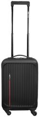 Leonardo Palubní kufr Trolley Premium, černá - rozbaleno