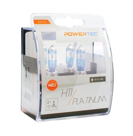PowerTech žarulje Platinum +130% (2xH11)