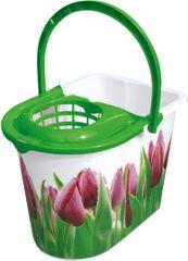 York kanta s cjedilom Tulip, 14 l, zelena