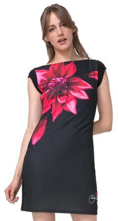 425d9139c66a Desigual dámské šaty Isla XS čierna