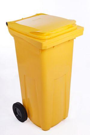 J.A.D. TOOLS smetnjak240 l, rumena plastika