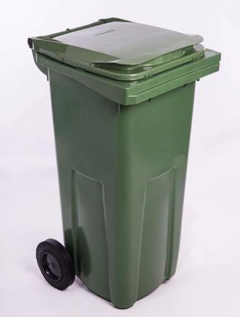 J.A.D. TOOLS kanta za otpad 120 l, zelena plastika