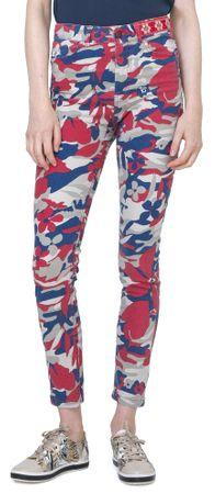 Desigual spodnie damskie Skinny Camo 36 wielokolorowy