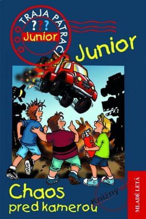 Blanck Ulf: Chaos pred kamerou - Traja pátrači Junior 2