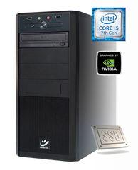mimovrste=) namizni računalnik Power-7 i5-7400/8GB/256GB+1TB/GTX1050Ti/FreeDOS