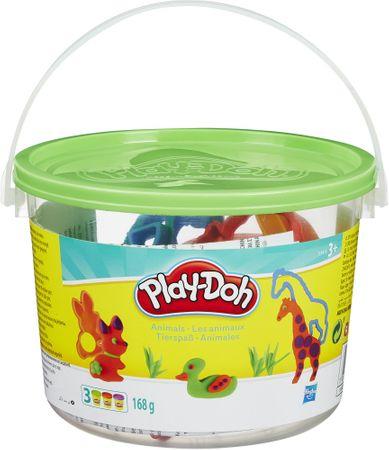 Play-Doh Állatos gyurma készlet vödörben