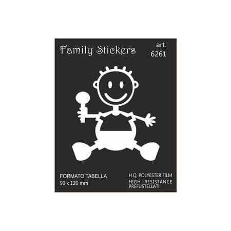 nalepka Family BabyBoy 9x12cm (6261)