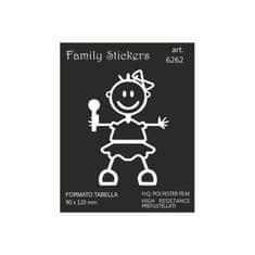 Naljepnica Family BabyGirl 9x12cm (6262)