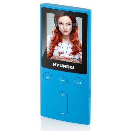 HYUNDAI odtwarzacz MP4 MPC 501 FM, 4 GB, niebieski