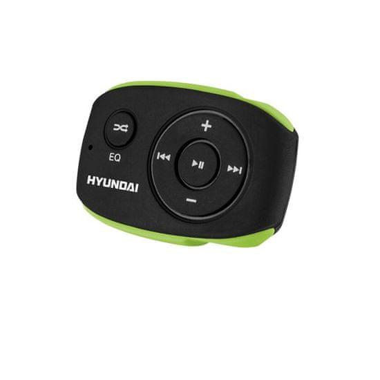HYUNDAI MP 312, 4 GB, čierna/zelená